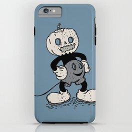 Mickey Pumpkin (desaturated) iPhone Case