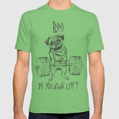 Do You Even Lift Mens Fitted Tee LARGE Grass