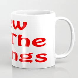 Sew All the Things in Red Coffee Mug