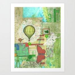 express balloon Art Print