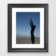 Surfer Success Framed Art Print