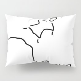 basejumping extreme sport Pillow Sham