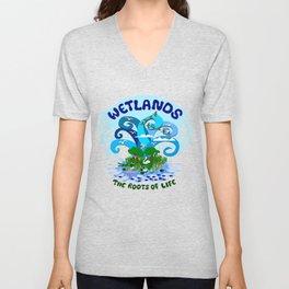 Wetlands Unisex V-Neck