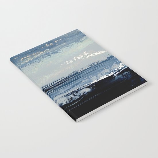 abstract minimalist landscape 5 Notebook