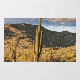 """Sonoran Desert Scene 10"" by Murray Bolesta Rug"