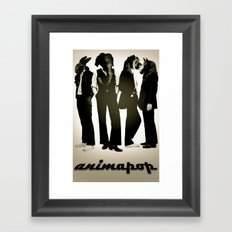 anima-pop Framed Art Print