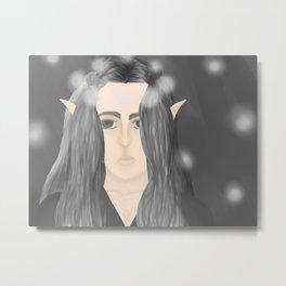 Elven Queen Metal Print