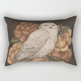 Snowy Owl Rectangular Pillow
