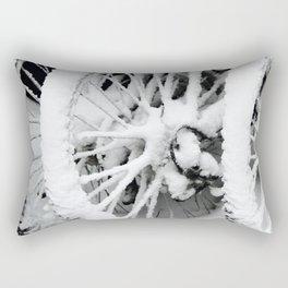 Snow Tires Rectangular Pillow