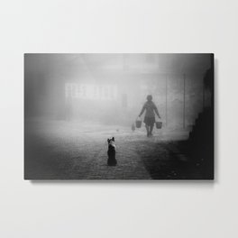 A dog in China Metal Print