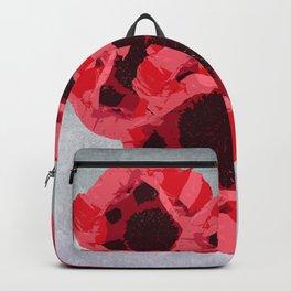 In memoriam - Heart of poppies Backpack
