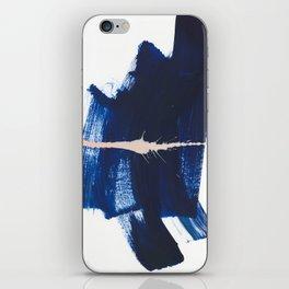 brush strokes 4 iPhone Skin