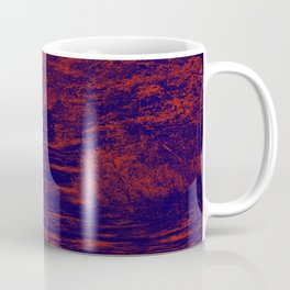 along the river, red & blue Coffee Mug