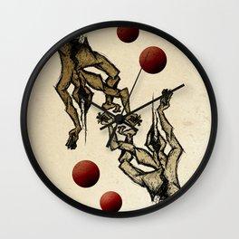 Jugglers Wall Clock