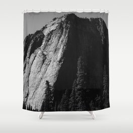 El Capitan III Shower Curtain