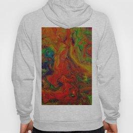Dark Psychedelic marble Hoody