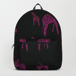 African Giraffes Backpack
