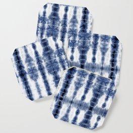 Tiki Shibori Blue Coaster