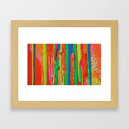 The Manipulation Of Paint #5 Framed Art Print