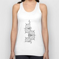 dna Tank Tops featuring DNA by kartalpaf