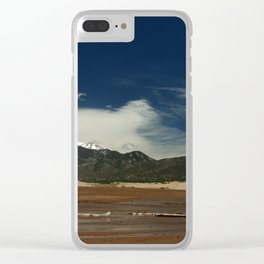 Mount Herard View Clear iPhone Case