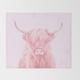 HIGHLAND COW Throw Blanket