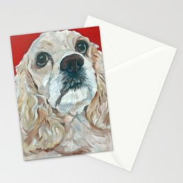 Lola the Cocker Spaniel Stationery Cards