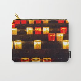 Light The Spirits Carry-All Pouch