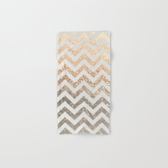 GOLD & SILVER  Hand & Bath Towel