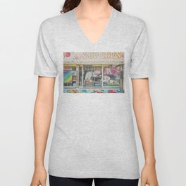 all the foods at the fair ... Unisex V-Neck
