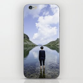 Finding yourself iPhone Skin