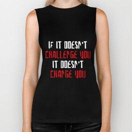 Challenge You Change You Women Racerback Tank Top Shirt Crossfit Train Yoga T-Shirts Biker Tank