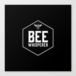 Bee Whisperer Canvas Print