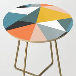Modern Geometric 36 Side Table