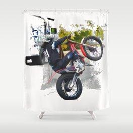 Gas Gas ec300 Stunt Rider Shower Curtain