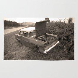 1957 Vauxhall Victor - dead cars series 102 Rug