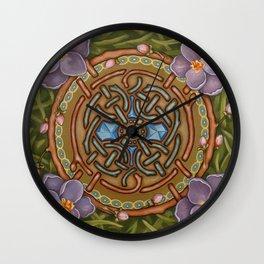 Spring Awakening Wall Clock