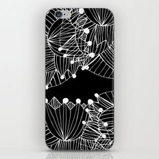 Black Tulip iPhone Skin