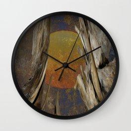 Surreal Planet Wall Clock