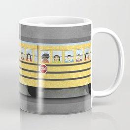 Big Yellow School Bus Coffee Mug