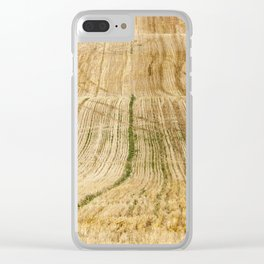 collection of rye crops Clear iPhone Case