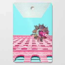 LA Palm Tree Look Up Cutting Board