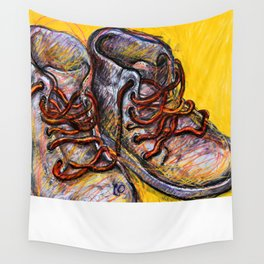 Old boots Wall Tapestry