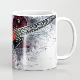 Electric Guitar Art Coffee Mug