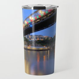 Christmas Bridge Travel Mug