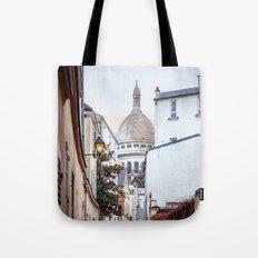 I love Montmartre, Paris. Tote Bag