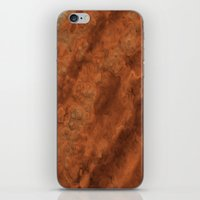 mars iPhone & iPod Skins featuring Mars by Lyle Hatch