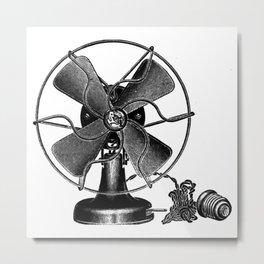 Fan 2 Metal Print