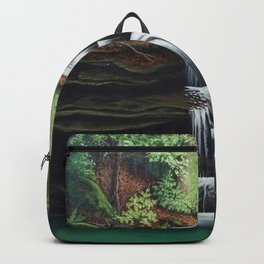 Just A Little Waterfall Backpack