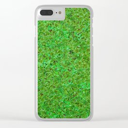 Closer Carpet on amazon river Clear iPhone Case